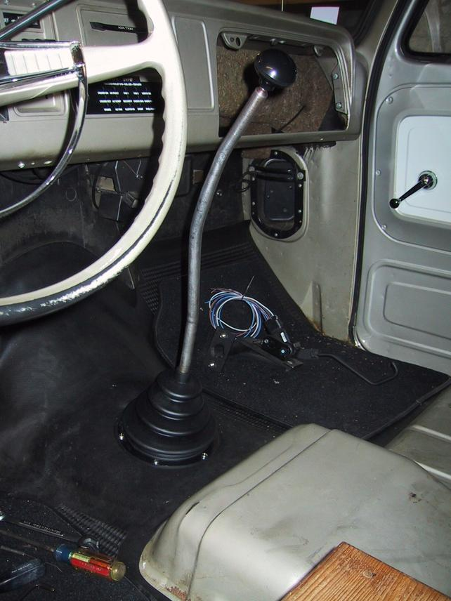 T56 Shifter Location Change - The 1947 - Present Chevrolet