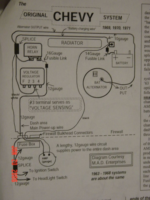 Vague Electrical Question on a 64 The 1947 Present Chevrolet – International School Bus Fuel Gauge Wiring Diagram