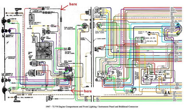 72 chevy nova wiring diagram 72 discover your wiring diagram color wiring diagram finished page 8 the 1947 present