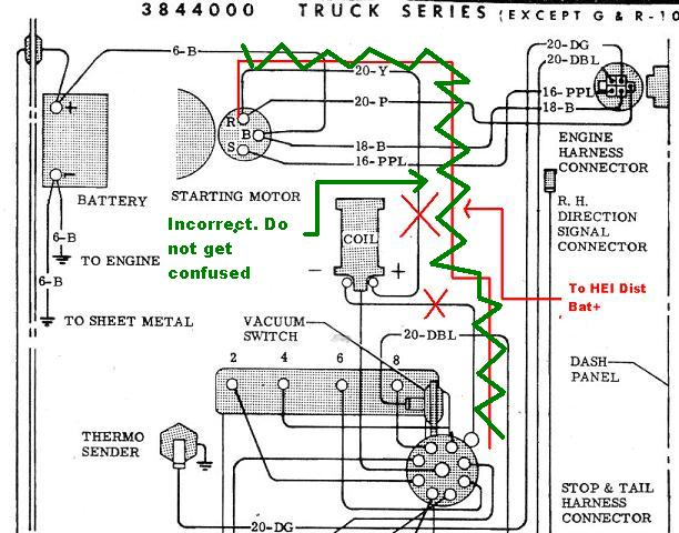 1973 chevy truck distributor wiring diagram  cooker switch