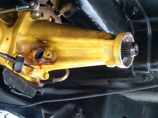 TH350 Vent Tube with Breather Cap Turbo 350