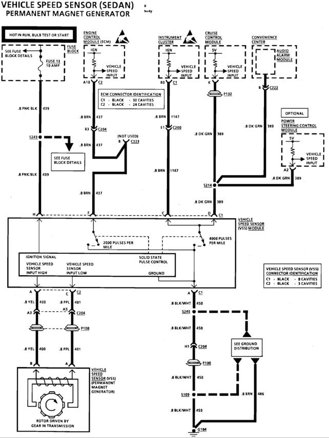 Using an electronic speedo with TBI and 700R4? - The 1947 - Present  Chevrolet & GMC Truck Message Board Network | Speed Sensor 1993 Chevy Wiring Diagram |  | 67-72 Chevy Trucks