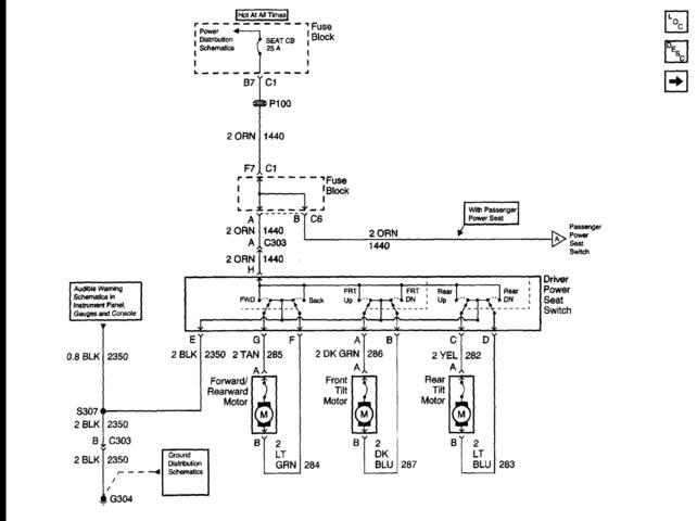 Wiring Diagram For Power Seats And Heaters