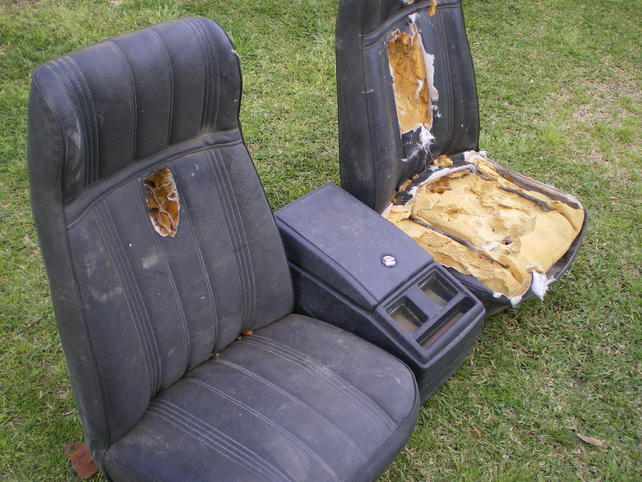 Bucket Seats For Chevy Truck >> Original 73 78 Chevy Truck Bucket Seats The 1947