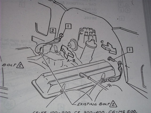 ground strap locations the 1947 present chevrolet gmc truck attached images