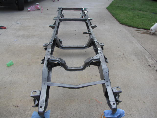 87 Chevy Truck Frame Boxing