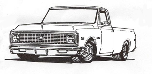 Line Drawings Of Our Trucks The 1947 Present Chevrolet Gmc Truck Message Board Network