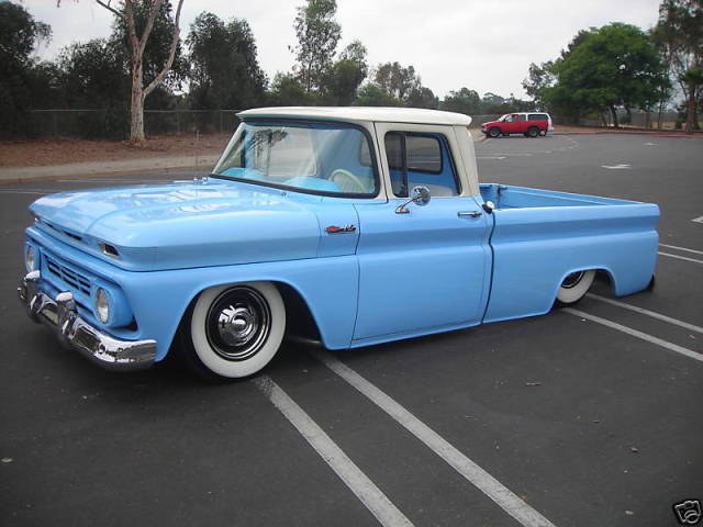 chevy c10 body transformation