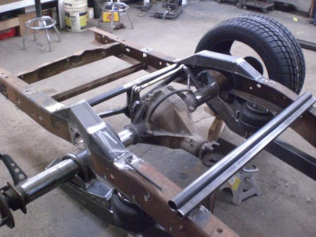 S10 Drag Truck Suspension