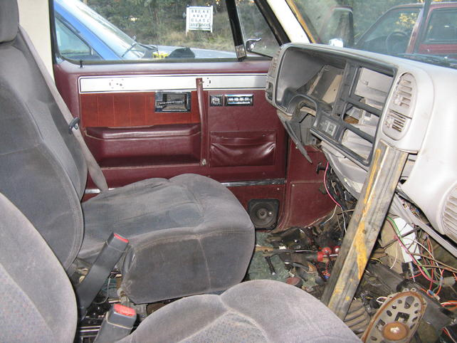 Has anyone put a 95 or newer dash in a 73-87 truck? - The