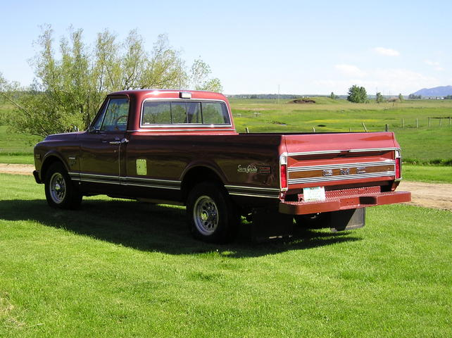 For Sale...not mine 1970 GMC SIERRA GRANDE LONGHORN - The ...