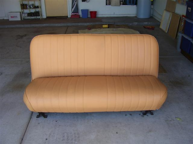 Awe Inspiring Az Leather Bench Seat The 1947 Present Chevrolet Gmc Theyellowbook Wood Chair Design Ideas Theyellowbookinfo