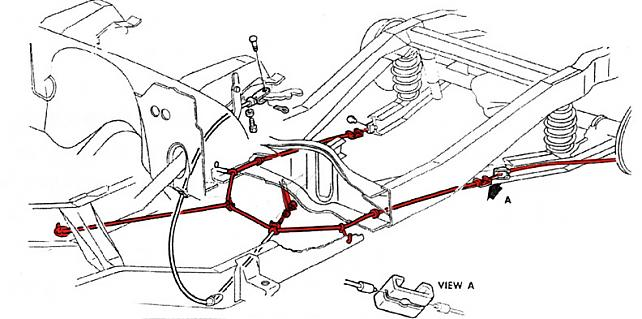 Parking Brake Cable Routing The 1947 Present Chevrolet Gmc Truck Message Board Network
