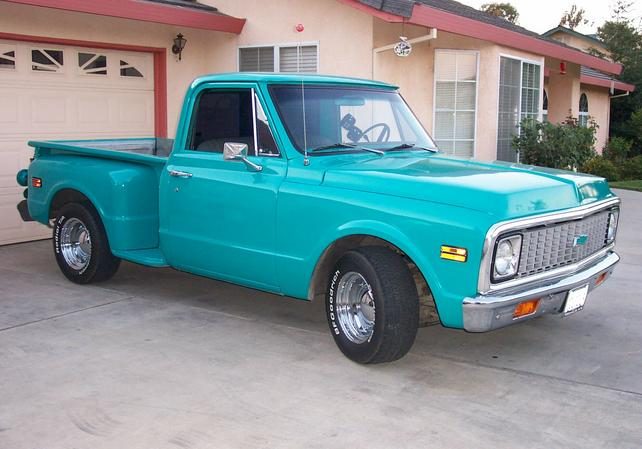 show some pic s of turquoise teal green chevy the 1947 1987 chevy truck fuel pump wiring diagram #4