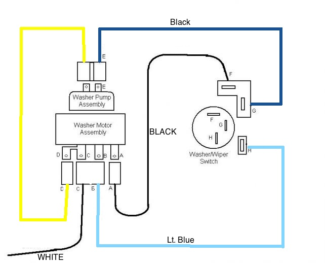 Chevy Wiper Motor Wiring - Wiring Diagram | Windshield Wiper Wiring Diagram For 2003 Chevy Impala |  | cars-trucks24.blogspot.com