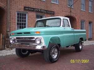 1966 Chevy Truck SWB 4x4 for sale on St  LOUIS MO