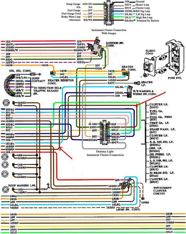 ls swap alternator wiring ls image wiring diagram 72 ls conversion wiring the 1947 present chevrolet gmc truck on ls swap alternator wiring