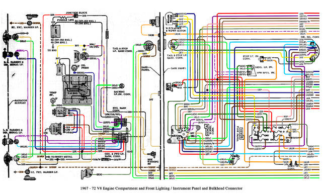 engine bay/front end wiring diagram/schematic please! - the 1947,