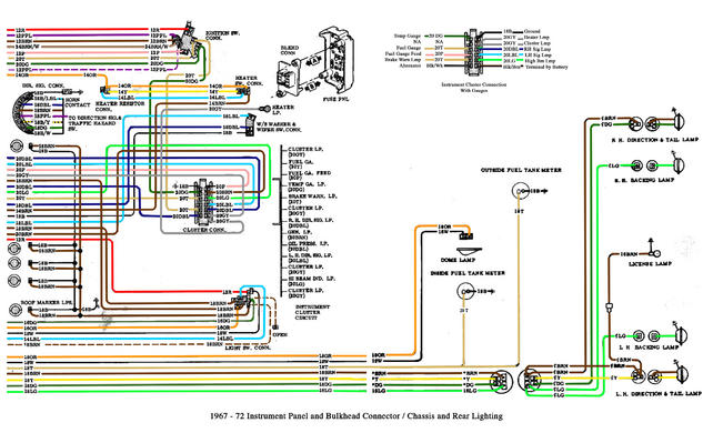 engine bay/front end wiring diagram/schematic please! - The 1947 - Present  Chevrolet & GMC Truck Message Board Network67-72 Chevy Trucks