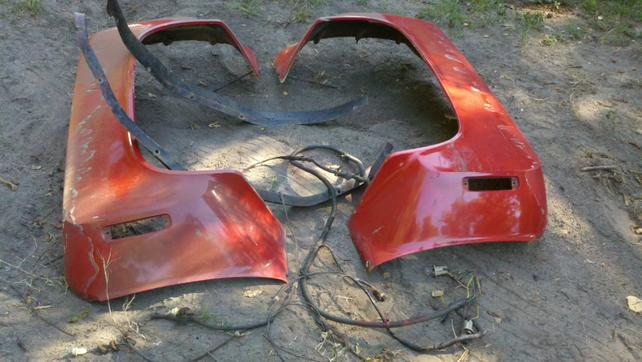 1987 chevy dually fenders