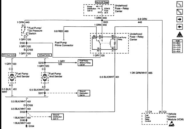 3 Wire Oil Pressure Sensor Wiring  Diagram