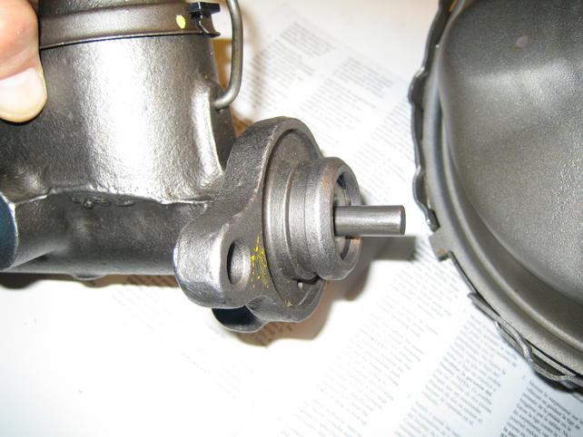 power DRUM brake conversion (with a dual master cylinder