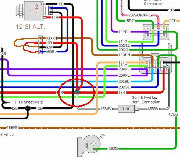 fuse block wiring diagram for 1966 chevelle fuse block wiring 66 chevelle fuse block wiring diagram jodebal com