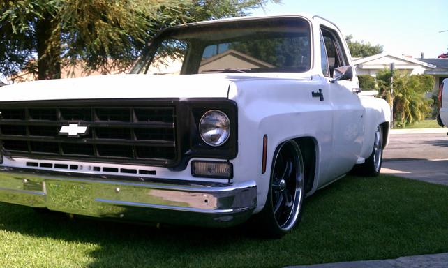 73 87 chevy truck length
