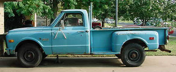 1967 gmc stepside 8 foot box  is it rare? - The 1947