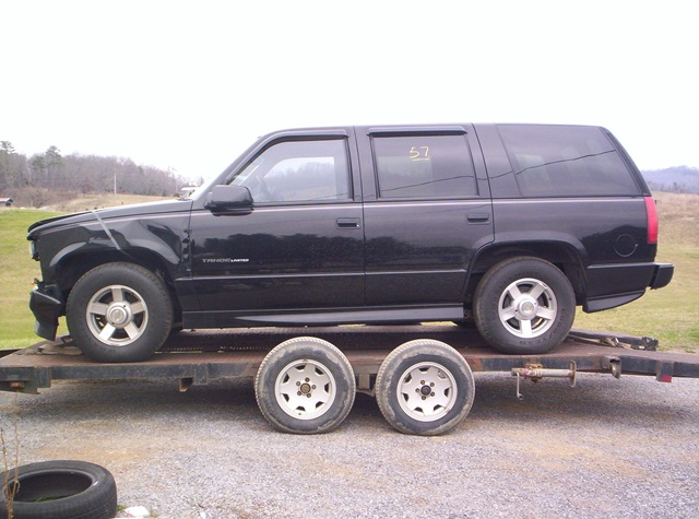 Tn Rare 2000 Tahoe Limited Old Body Style Leather Seats