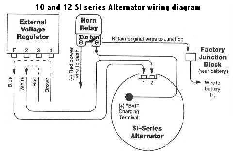 basic alternator wiring diagram wiring diagram alternator wiring here s a basic diagram