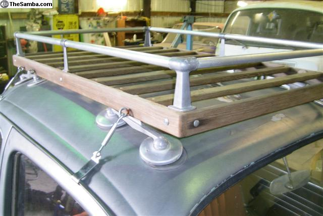 Found A Carpac Wood Roof Rack But Wrong Size The 1947