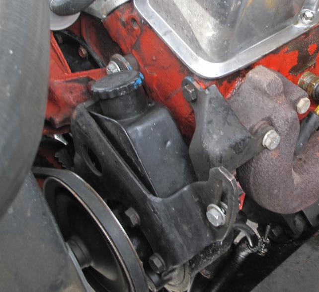 Power Steering Pump Bracket Pictures The 1947 Present