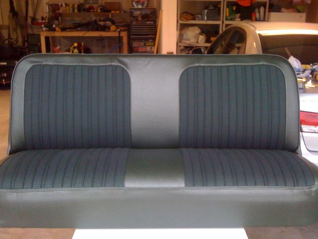 Stupendous 72 Bench Seat Rebuild The 1947 Present Chevrolet Gmc Uwap Interior Chair Design Uwaporg