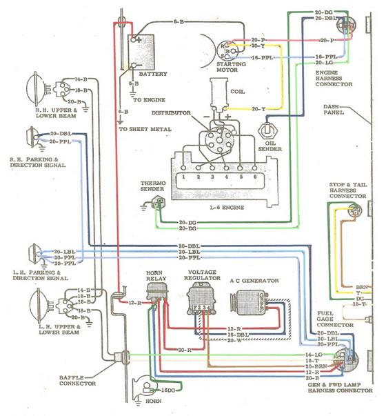 1965 turn signal / brake light rewiring issue - The 1947 - Present ...