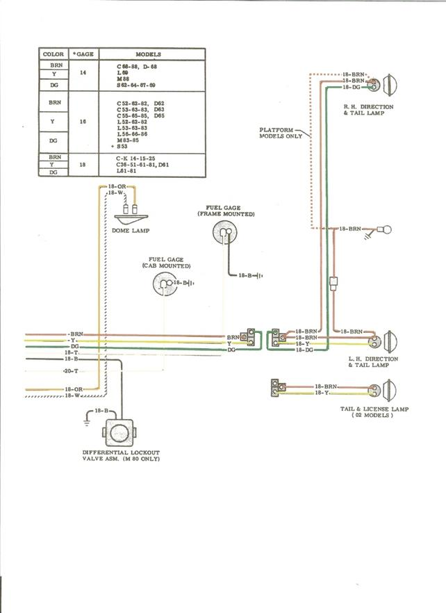 1965 turn signal / brake light rewiring issue - The 1947 - Present ... 1965 chevy c10 fuse box diagram 67-72 Chevy Trucks