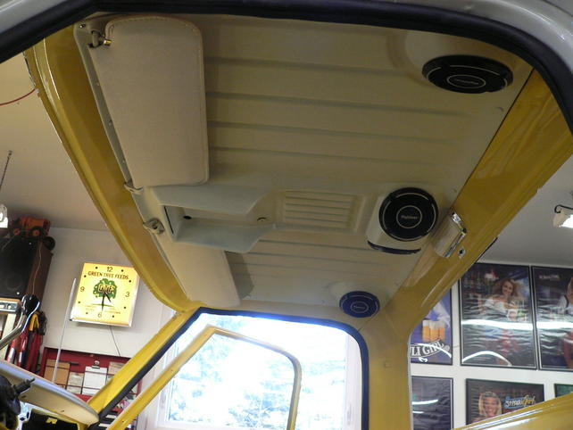 Headliner With Built In Speakers The 1947 Present
