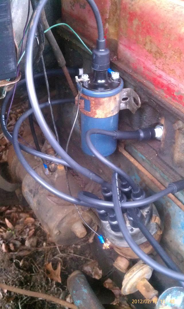 [SCHEMATICS_48YU]  Battery, coil, distributor help.. - The 1947 - Present Chevrolet & GMC  Truck Message Board Network | Wiring A 58 Chevy 235 |  | 67-72 Chevy Trucks