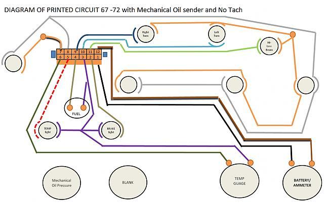 chevy c10 instrument cluster wiring diagram