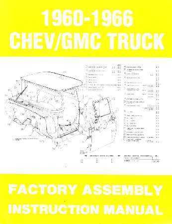 1972 Chevrolet Trucks Shop Manuals /& Parts Books CD