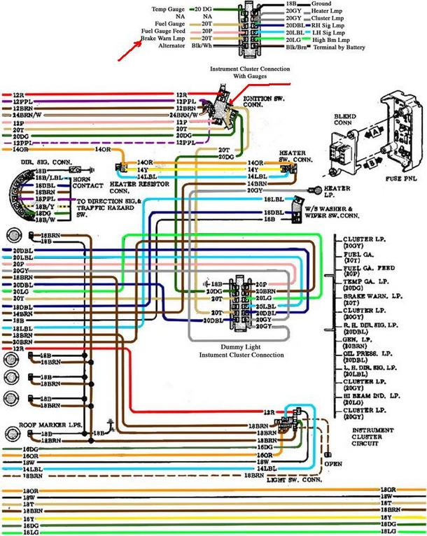 1998 Chevy Silverado Brake Light Switch Wiring Diagram - Wiring ...
