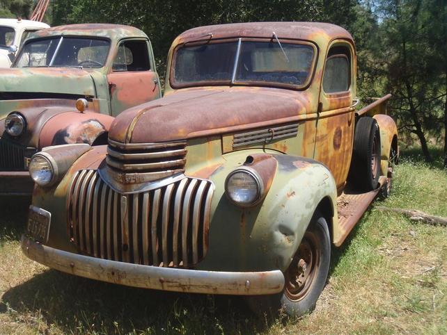 1946 Chevy Truck For Sale >> My Very First Project 1946 Chevy Pickup The 1947 Present