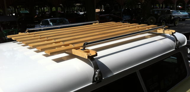 wooden roof rack diy