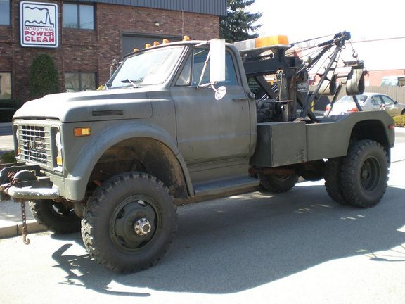 Chevy C60 4x4 Conversion Bio Mag