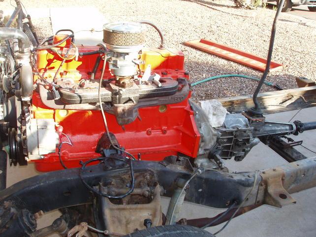 AZ rebuilt 292 and t5 transmission - The 1947 - Present Chevrolet