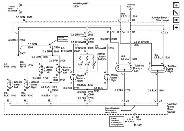 1999 silverado trailer wiring diagram 1999 image 2007 chevy express trailer wiring diagram solidfonts on 1999 silverado trailer wiring diagram