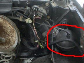 Vacuum    thingy on the transfer case    S10 Forum