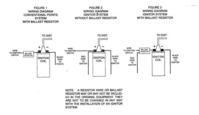 chevy ballast resistor wiring diagram aftermarket hei dist. questions - the 1947 - present ... ignition coil ballast resistor wiring diagram free picture