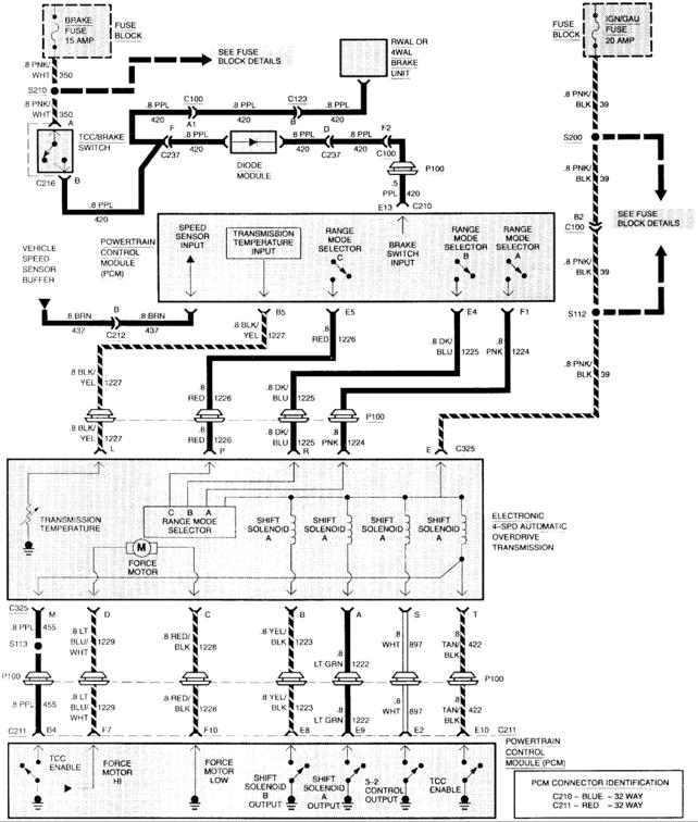 4l60e guys and s10 guys i need your help - the 1947 - present chevrolet & gmc truck message ... 2004 chevy silverado 2500hd radio wiring diagram #13