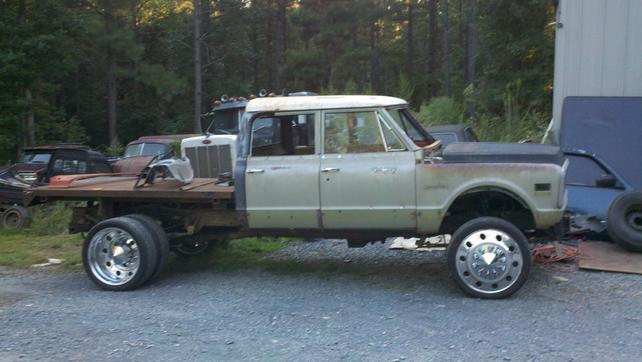 Trucks For Sale In Tn >> 1972 Custom Crew Cab Diesel.... - The 1947 - Present ...